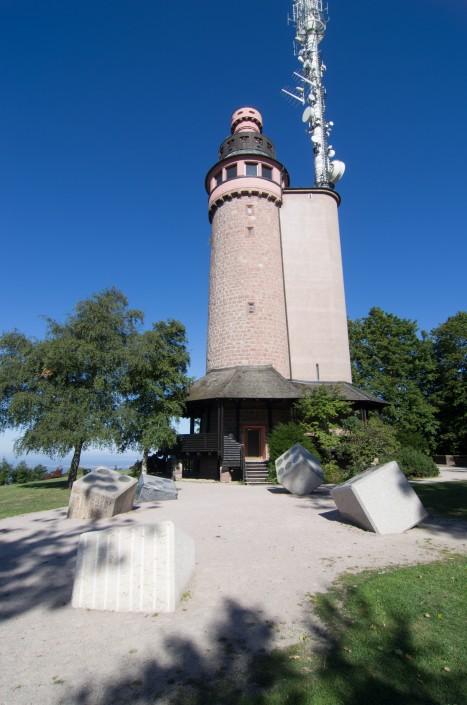 Merkurturm Eingang