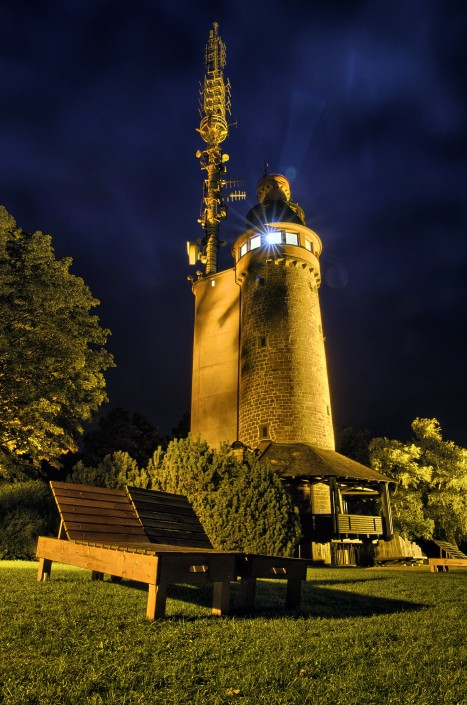 Nachts auf dem Merkur